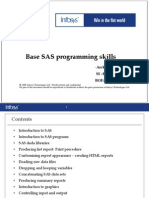 Base SAS Programming Fundamentals