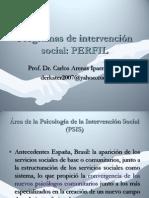 Progrs de Interv SocialPERFIL