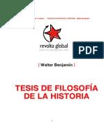 BENJAMIN, Walter, Tesis de Filosofia de La Historia