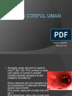 pH-Ul in Corpul Uman