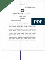Tar della Campania - Comune di Napoli Ordinanza di sospensiva 707/2014 pronunciata a seguito di ricorso su