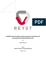 Final Thesis - M.sc Sustainable Energy Science - Vignir Bjarnason