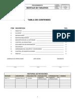 Ssoma Pro 012 Montaje de Tableros
