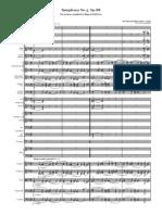 Elgar - Symphony No 3 FS Sections