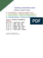 Formulas Eletricas