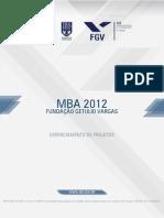 Gerenciamento de Projetos 2012