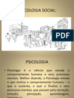 Slide Psicologia Social Facam