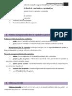 MP. TEMA 2. Managementul Sferei de Cuprindere a Proiectelor