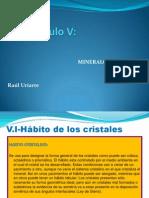 Cap. v - Mineralogia Fisica - P1