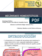 X Mecánismos Homeostáticos 12-FEB-14