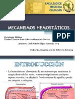X Mecanismos Hemostáticos 12-FEB-14