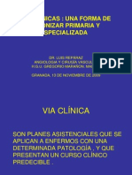 Vias Clinicas Diabetes