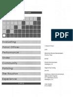 Wycoff, M. A., Et. Al. - Evaluating Patrol Officer Performance Under Community Policing