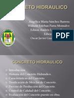 PRESENTACION CONCRETO Hidráulico