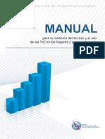 Manual Para La Medicion Acceso y Uso de TICS