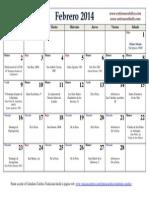 Calendario Católico Tradicional