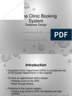 Online Clinic Booking