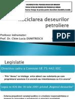 Reciclare deseuri petroliere