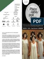 Folleto Piscolabis poéticos