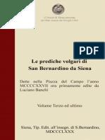 Le prediche volgari di S. Bernardino da Siena – 3