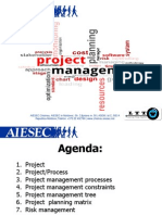 Project Management. Elena