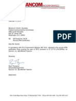 Sancom FCC CPNI Compliance 021114