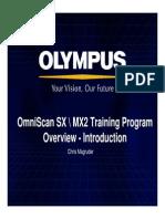 OmniSX MX2 Training 1 Overview