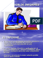 Redaccion de Informes