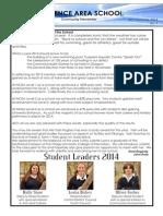 Newsletter 7th February 2014