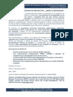 Conferencia 16-01-2013-Seminario-Gestiyn de Proyectos Con La Nueva ISO 21500 PM