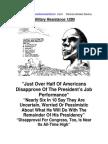 Military Resistance 12B5 Majorities Ruled