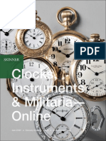 Clocks, Instruments & Militaria - Online | Skinner Auction 2708T
