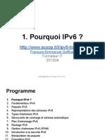 IPv6 0x01 Pourquoi IPv6  ?