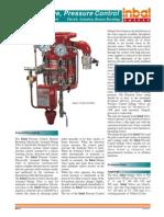Inbal - Deluge Valve Pressure Control 03-13 CR01