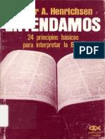 24 Principios Basicos Para Interpretar La Biblia - Walter Henrichsen