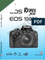 Canon Eos Drxs 1000d