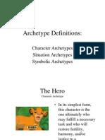 archetypes presentation disney re-cap