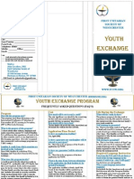 First Unitarian Society of Westchester Youth Exchange Program