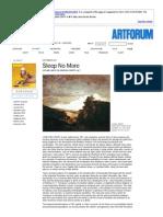 jonathan crary's 24:7 - artforum.com