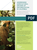 Addressing agricultural drivers of deforestation in Colombia