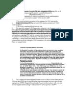 Customer Proprietary Network Information