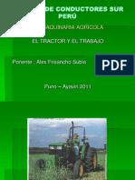 ECSURP El Tractor Yel Trabajo