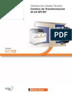 Catalogo Centros de Transformacion 24kv Mt Bt