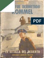 Como Fué Derrotado Rommel - Percy Holt