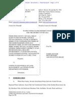 Coalition lawsuit