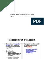 Geografie Politica