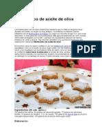 Mantecados de Aceite de Oliva