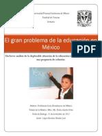 El problema de la educación en México