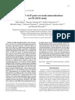 Efek Cpp-Acp Pada Mineralisasi Gigi