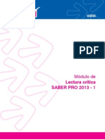 ICFES LECTURA CRITICA